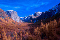 Tunnel View in Vivid Infrared Colors