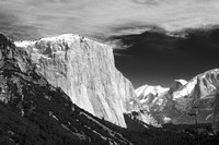El Capitain in Black and White